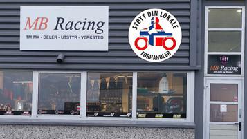 Støtt din lokale forhandler – MB Racing i Stavanger