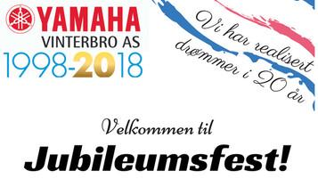 Jubileumsfest: Yamaha Vinterbro fyller 20 år!