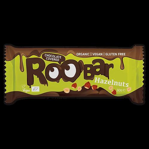Roobar Roobar-Riegel Haselnuss mit Schokoladenüberzug