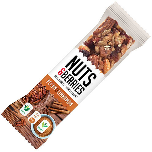 Nuts & Berries Pecan & Cinnamon 40g