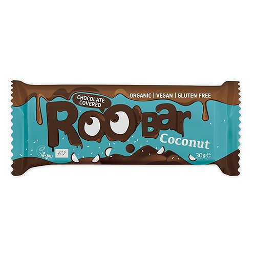 Roobar Kokosnuss m. Schokolade 30g