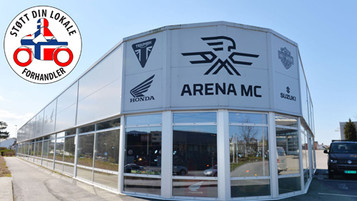 Støtt din lokale forhandler – Arena MC i Sandnes