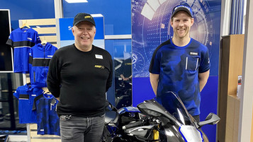Ole Bjørn Plassen satser med Yamaha i 2021