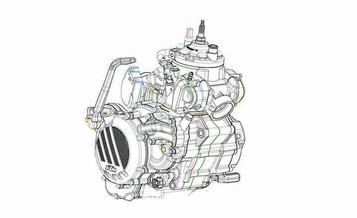 KTM lanserer totakter med EFI