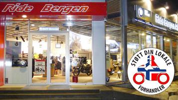 Støtt din lokale forhandler – Ride Bergen