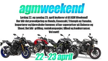AGM Weekend 2017 - NÅ til helgen!