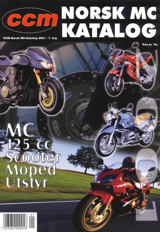 Norsk MC-Katalog 2001