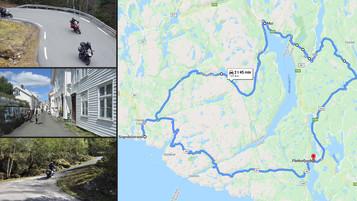 Nordsjøveien og Tonåsen – Turforslag til Norges Nasjonale Motorsykkelveier