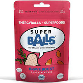 Superballs Brave Boost (Maca-Almond)