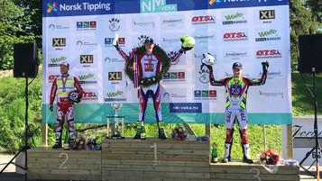Gekko ble Norgesmester i X-Trial under NM Veka