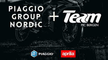 Ny Aprilia og Piaggio-forhandler i Bergen