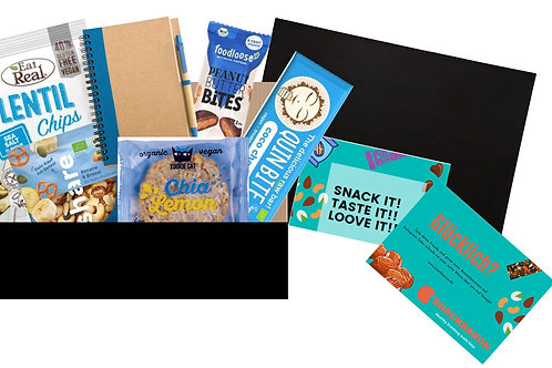 Meeting Box - Snacks mit Heft