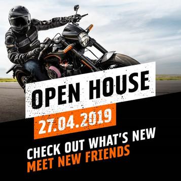 Open House hos Harley-Davidson på lørdag