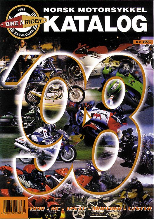 Norsk MC-Katalog 1998
