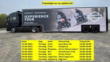 Nyhetsbrev fra Harley-Davidson Oslo / Lazy Boyz