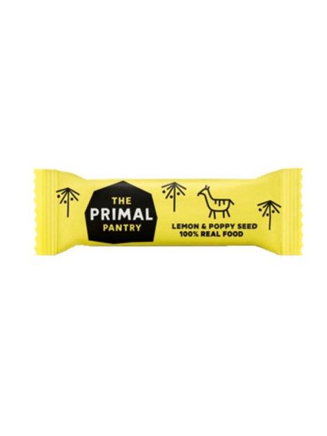 Primal Pantry Lemon & Poppy Seed Bar