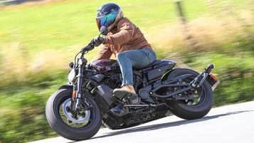 Vi har testet den helt nye Sportster S fra Harley-Davidson