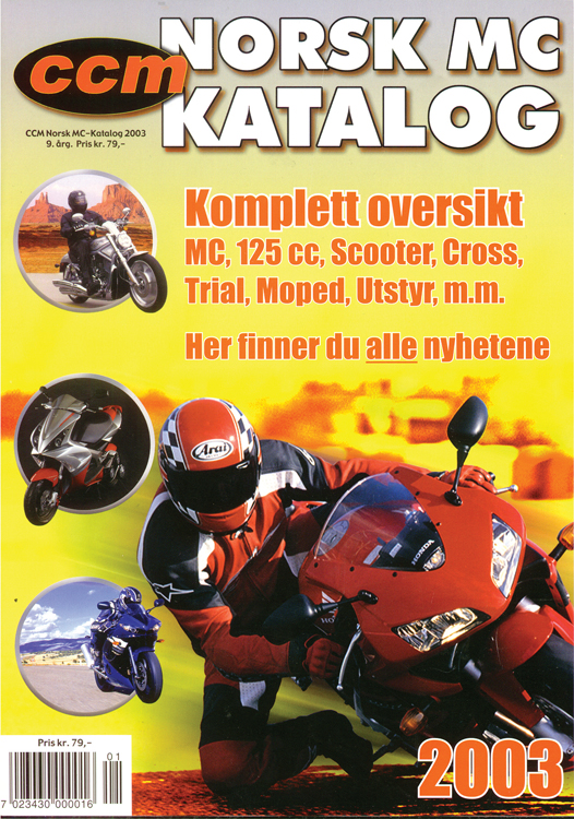 Norsk MC-Katalog 2003