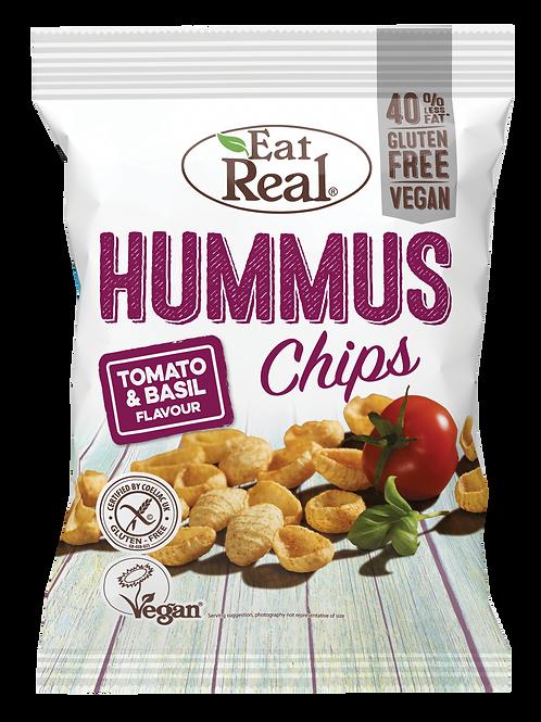 Eat Real Hummus Chips Tomate & Basilikum