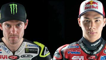 Still spørsmål til MotoGP-førerne Crutchlow og Nakagami