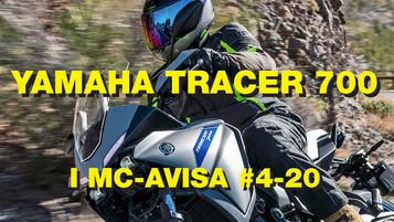 Video fra Yamaha Tracer 700-test