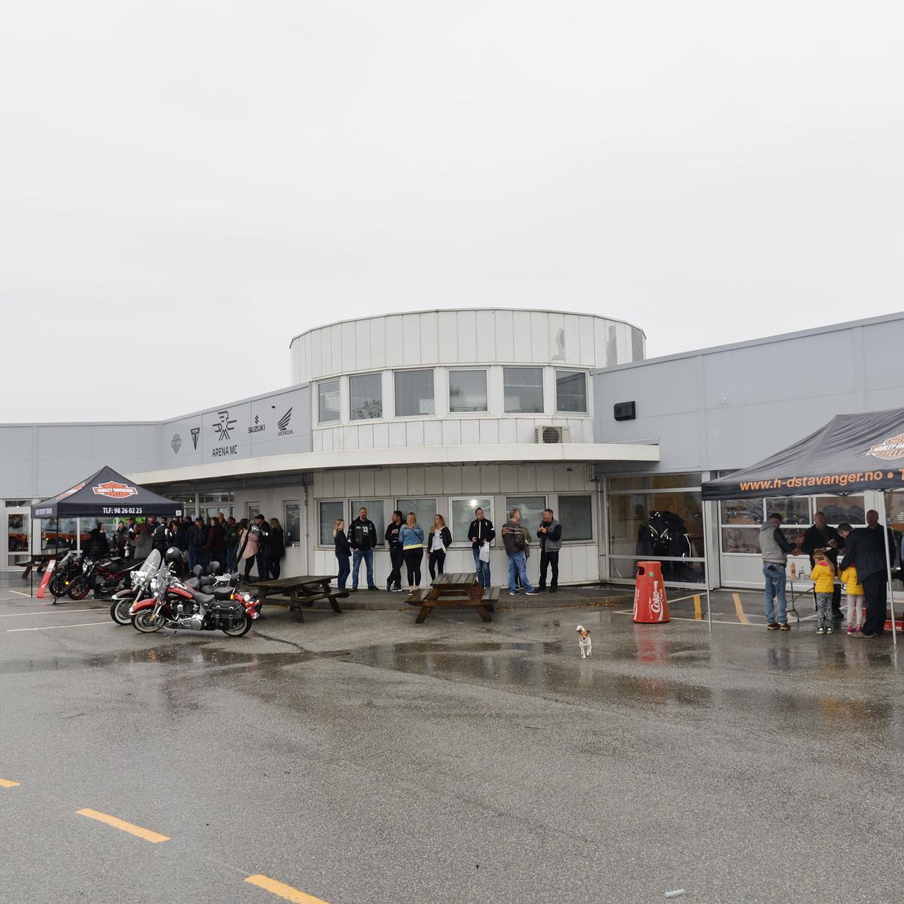 Det var et utrolig trøkk under årets Open House, selv om det regnet hele dagener.