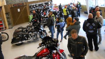 Harley-Davidson bruktbutikk på Hadeland slår av tenninga