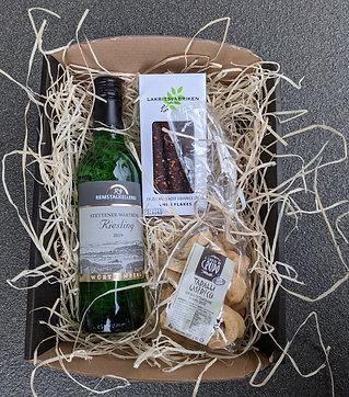 Wein & Snack Korb Klein