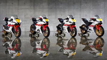 Yamaha feirer sin Grand Prix racing-historie med 2022-modellene i Yamaha R-serien