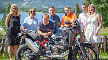 Straand Hotel lanserer internasjonal standard for MC-tur kjøring: HUB-Riding