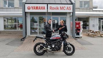Ny Yamaha Abarth til Henrik Ingebrigtsen