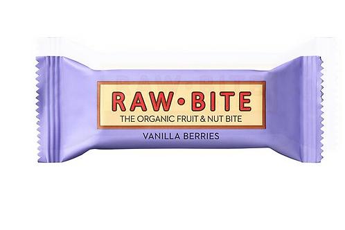 Raw Bite Vanilla Berries 50g Raw Bite Protein 50g