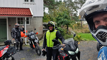 Grus og hygge i Homborsund