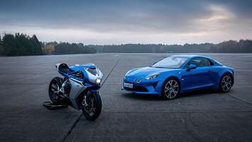 MV Agusta går i samarbeid med franske Alpine og lager super eksklusiv Superveloce serie