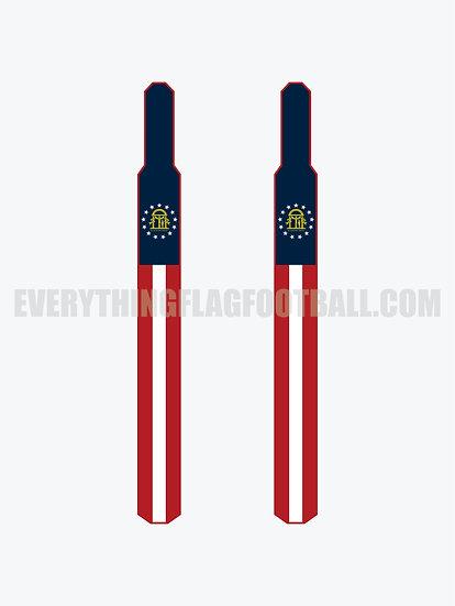 Georgia Flag Set