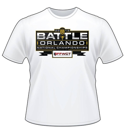 Official FFWCT Shirt - PICK UP AT BATTLE ORLANDO