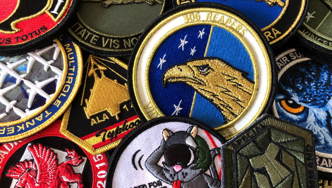 3D Embroidered Patches