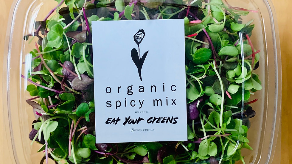 Organic Spicy Mix