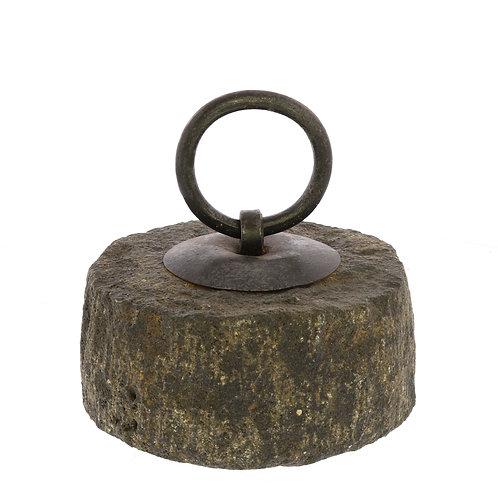 Stone Doorstep with Iron Ring