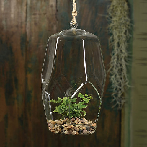 HANGING FACETED BUBBLE