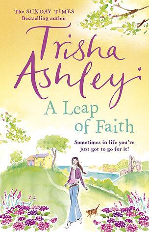 Trisha Ashley A Leap of Faith Book Cover