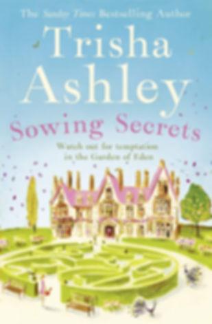Trisha Ashley Sowing Secrets Book Cover
