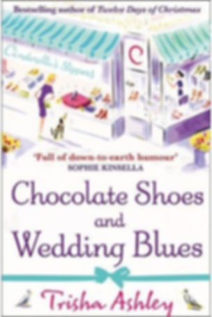 Trisha Ashley Chocolate Shoes and Wedding Blues Book Cover