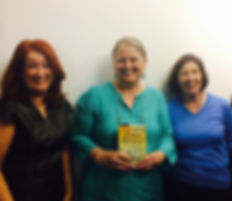Trisha Ashley with Authors Norma Curtis and Minna Howard