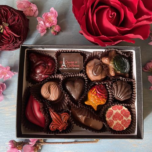12 Piece box of specialty chocolates