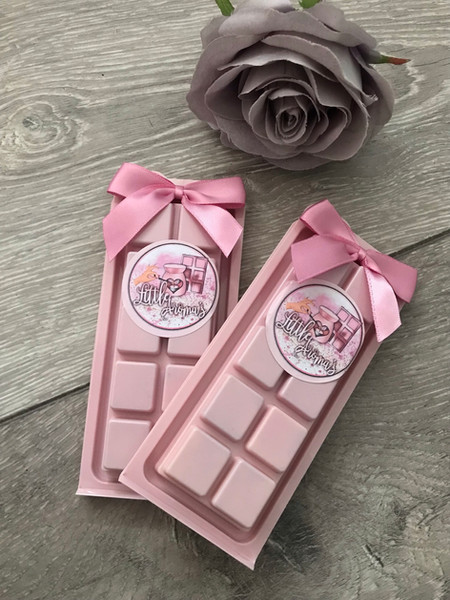 Pink Clam Shell Snap Bars
