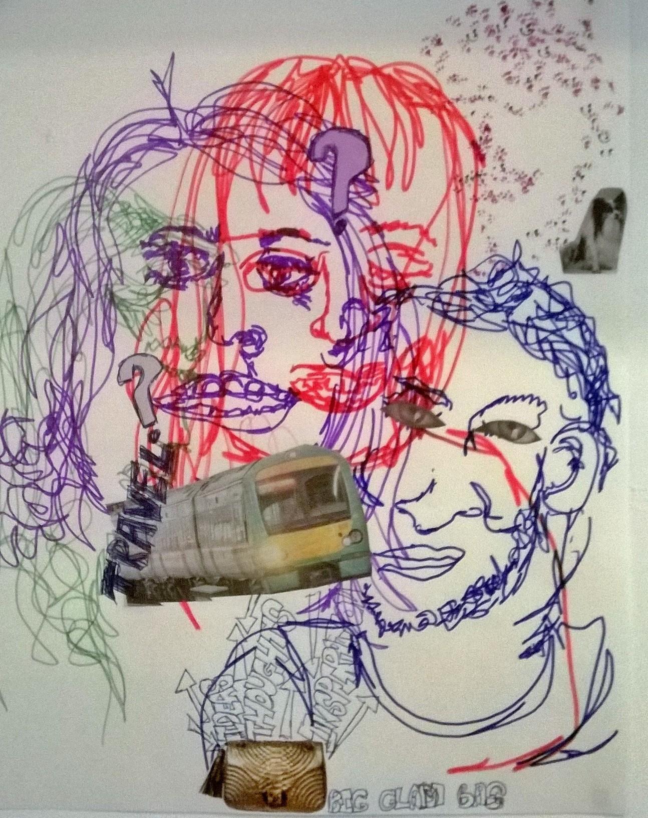 Portraits (drawing)