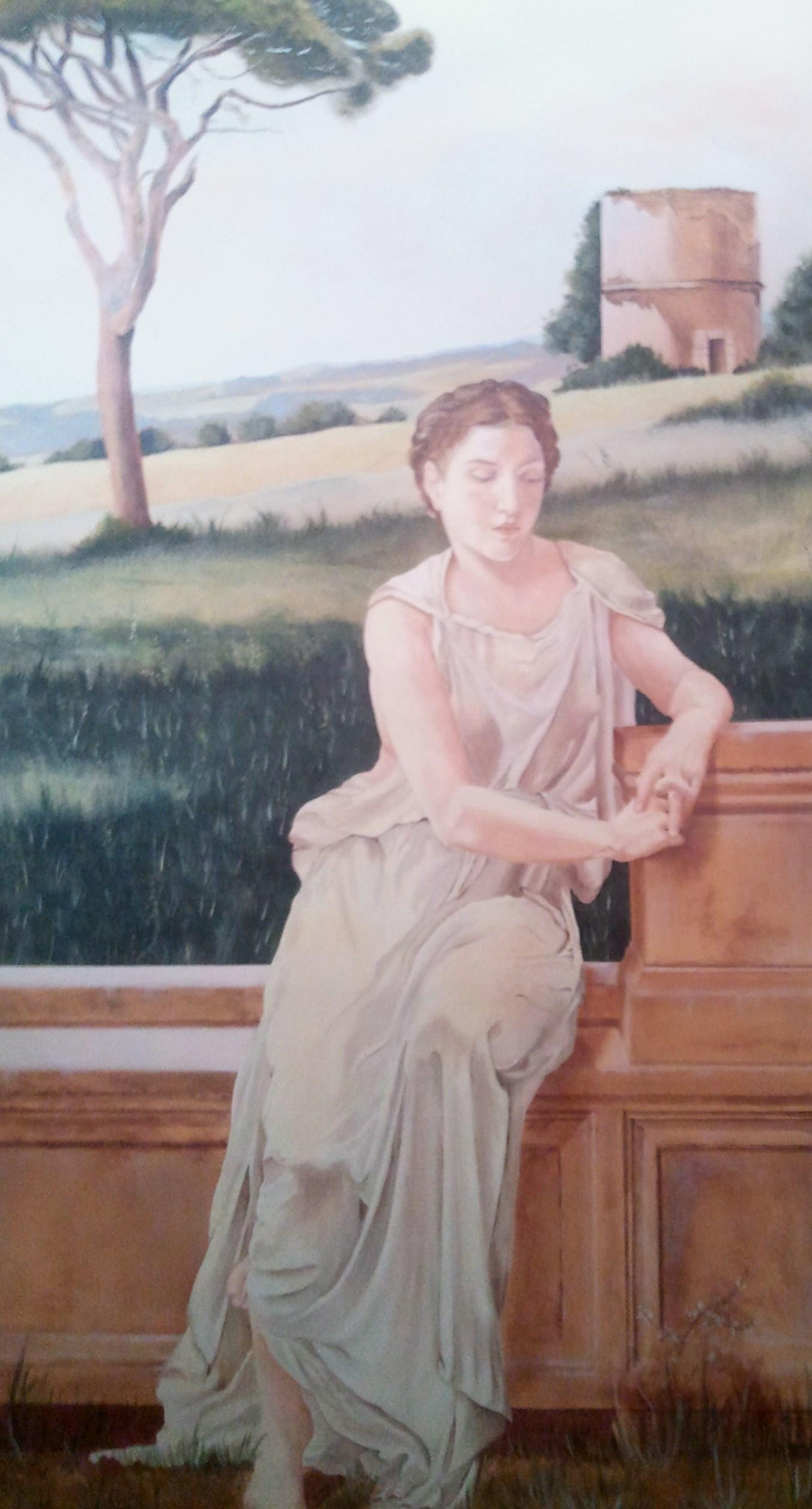 Décor peint sur toile