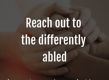 Supporting the Differently-Abled Part 2