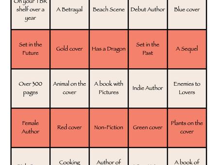 2021 Reading Bingo